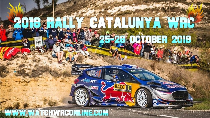 2018 Rally Catalunya WRC Live