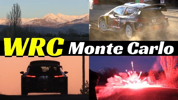 2018 Rallye Monte Carlo WRC Best Actions