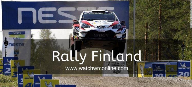 Rally Finland WRC Live Stream