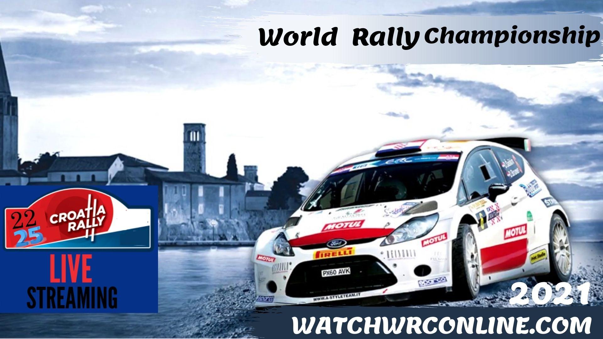 Croatia Rally WRC Live Stream