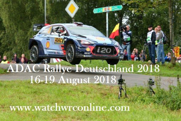 ADAC Rallye Deutschland 2018 Live Stream