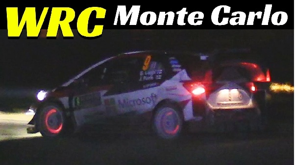 Rallye Monte Carlo WRC 2018 Highlights