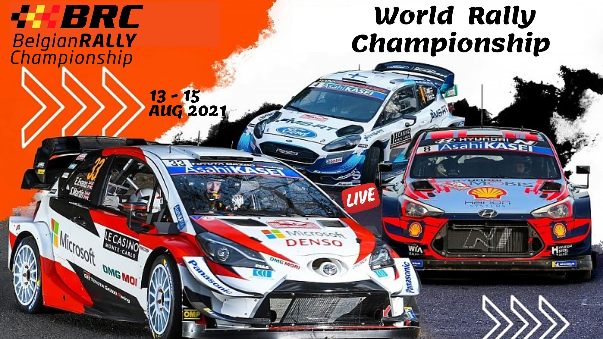 WRC Belgium Rally Live Stream 2021