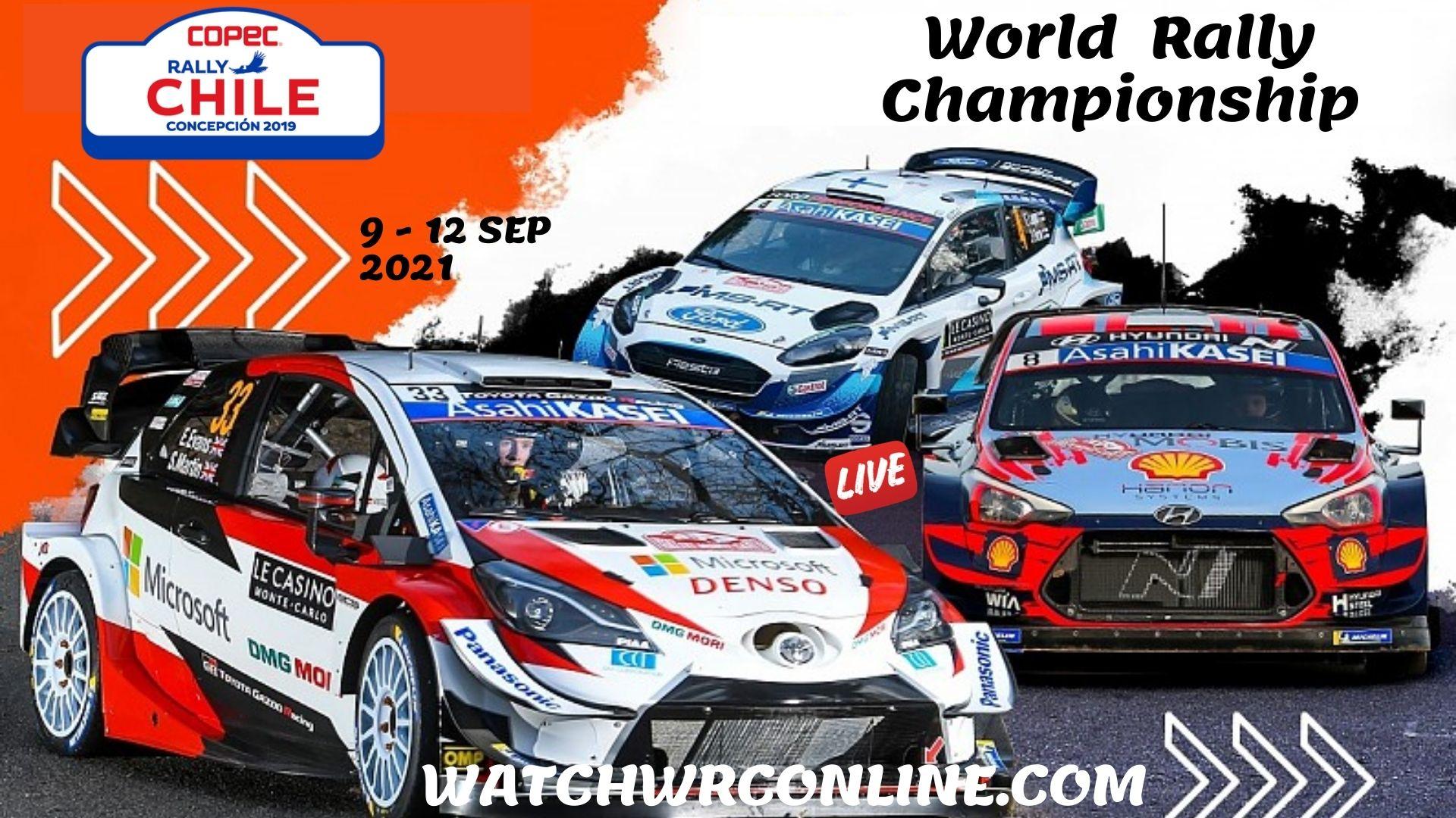 WRC Chile Rally Live Stream 2021