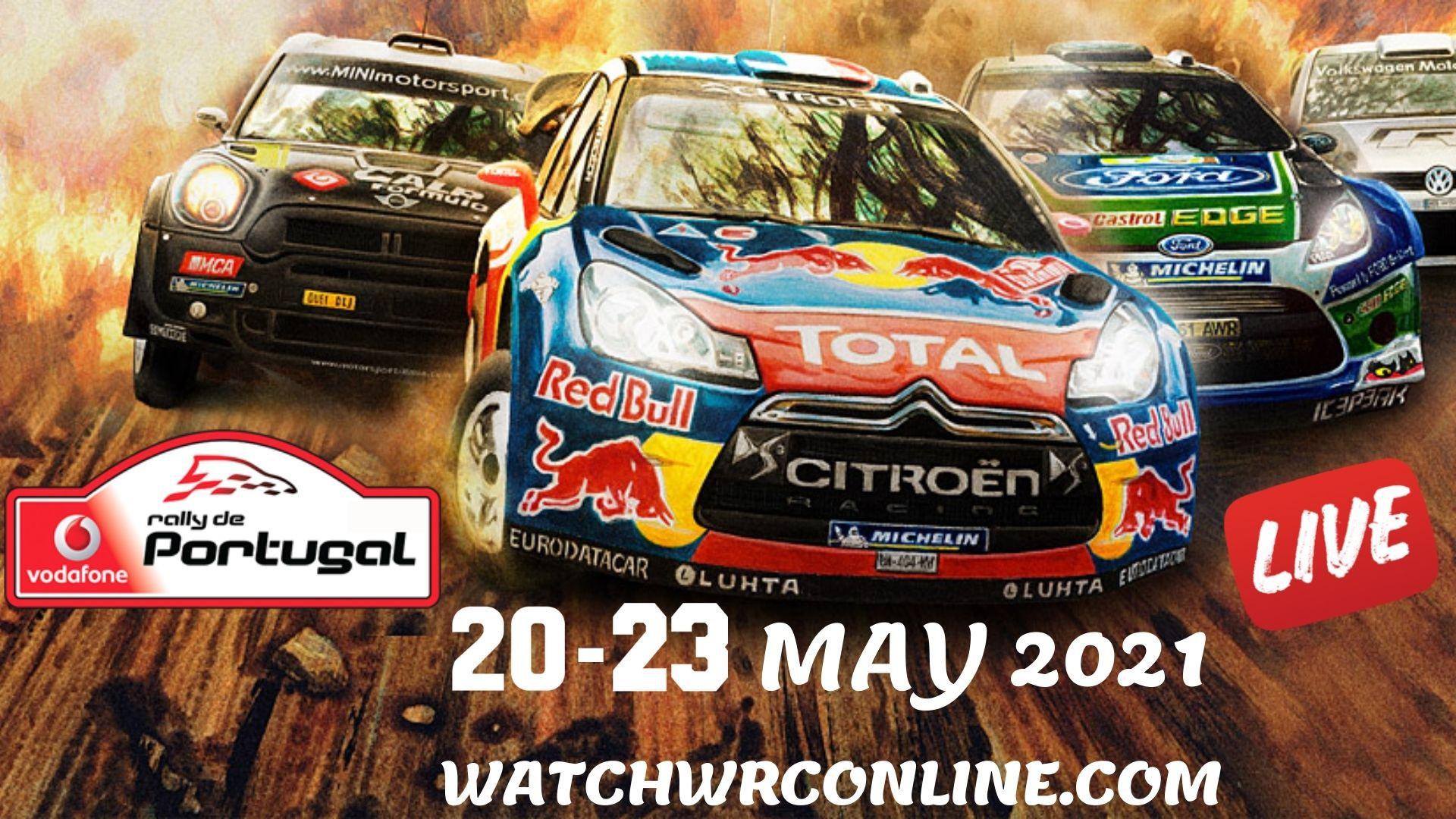 WRC Portugal Rally Live Stream 2021
