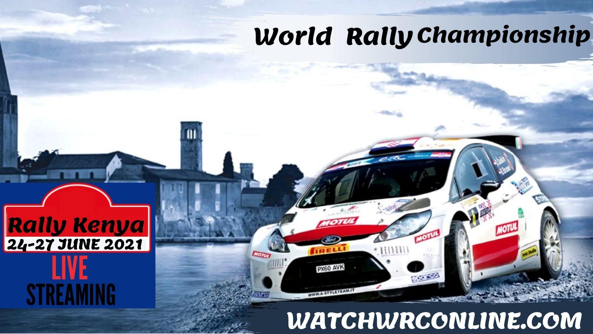 WRC Safari Rally Kenya Live Stream 2021