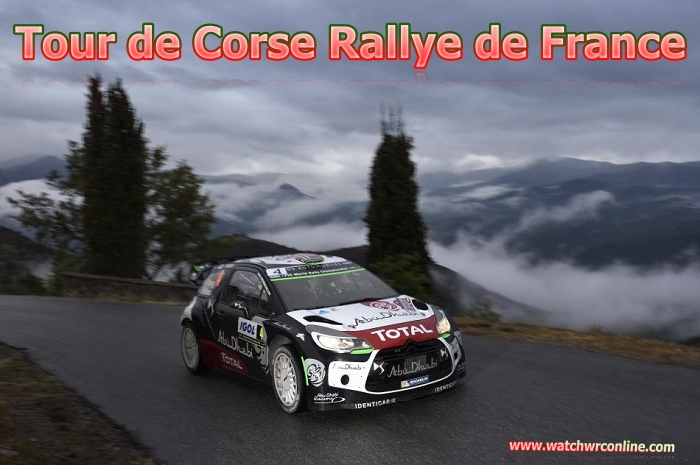 Live Coverage Tour de Corse Rallye de France