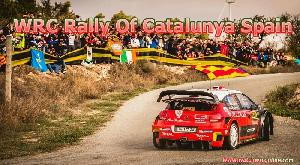 WRC Rally Of Catalunya Spain Live Stream